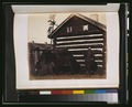 Mule laden with casks boundry commission huts 3g11419u.tif