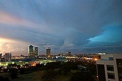 Skyline of Alabang, Muntinlupa City