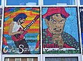 Murals of Carlos Santana and Jose Cantinflas - Pilsen - Chicago - Illinois - USA (32853889201).jpg