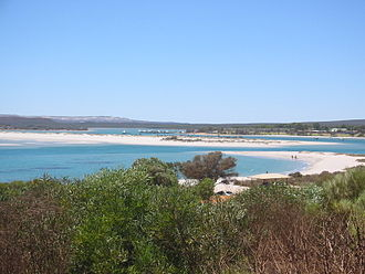 Murchison River (Western Australia) - Murchison River mouth