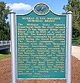 Murray D. Van Wagoner Memorial Bridge Michigan Historical Marker.jpg
