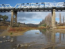 Murrumbidgee river tharwa bridge