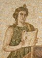 Musa Clio from the Virgil Mosaic Bardo Museum Tunis-cropped 1.jpg