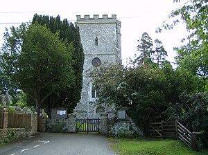 East Devon Way - The church at Musbury lies near the trail