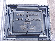 Museo di Castel Sant'Angelo (Rome) - sign.jpg