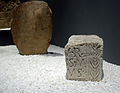 Museum of Prehistory and Archaeology of Cantabria 02 - Stele from Peña Amaya.JPG