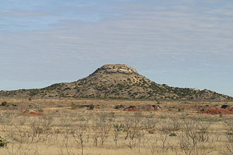 Borden County, Texas - Image: Mushaway Peak Borden County Texas 2010