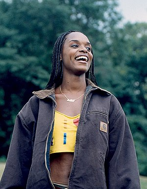 N'Bushe Wright - Wright in the film His & Hers
