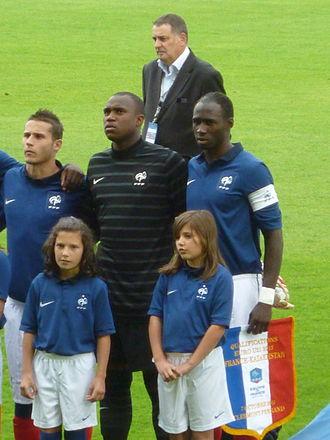 Eliaquim Mangala - Mangala lining up as the captain of France U21