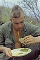 NARA 111-CCV-307-CC43115 101st Airborne soldier eating hot meal Operation Cook 1967.jpg