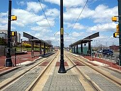 NJPAC/Center Street station