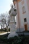 Figure shrine St.  Johannes Nepomuk
