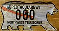 NORTHWEST TERRITORIES 2011 -NEW STYLE, SOUVENIR SAMPLE PLATE -TYPE 4, CANOE in RAPIDS - Flickr - woody1778a.jpg