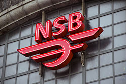 NSB logo at Bergen Station.jpg