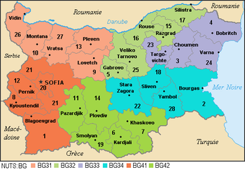 NUTS statistical regions of Bulgaria Wikipedia