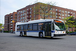 List Of Bus Routes In Brooklyn Wikipedia - Brooklyn bus map