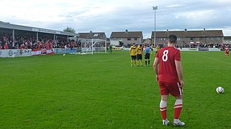 Nairn County F.C. - Image: Nairn v Brora NOS Cup 2013