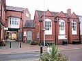 Nantwich Museum, and the entrance to The Cocoa Yard - geograph.org.uk - 1566295.jpg
