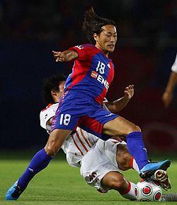 Naohiro Nishikawa FC Tokyo Nabisco Cup.jpg