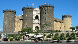 Castel Nuovo, Naples: initiated by the Anjou, ...