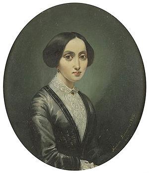 Napoleon Iłłakowicz - Image: Napoleon Iłłakowicz Portret arystokratki 1852