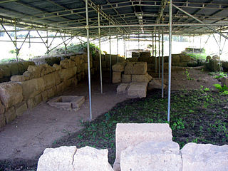 Narce human settlement in Italy