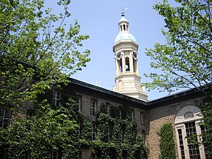 Nassau Hall - Side view