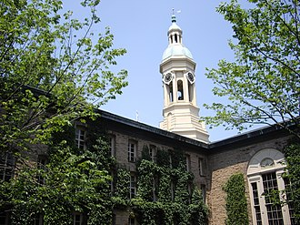 Princeton Historic District (Princeton, New Jersey) - Image: Nassau hall princeton