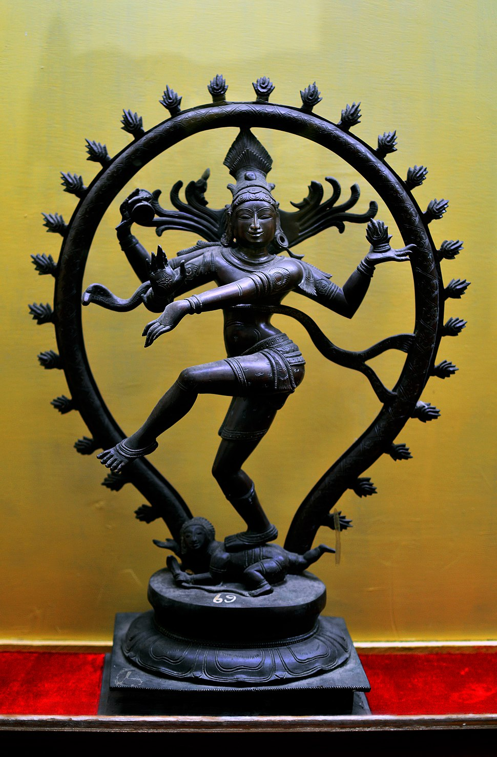 Nataraja The Lord of Dance from Thanjavur Palace