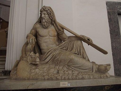 National Archaeological Museum of Naples - Statua di Divinita Fluviale