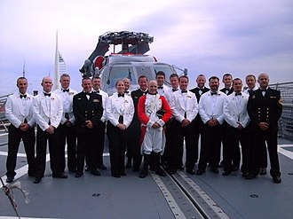 Mess dress uniform - Royal Australian Navy Senior Sailors prior to a Mess Dinner