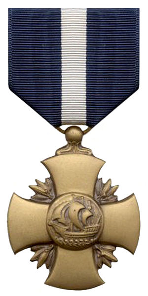 Awards and decorations of the United States Department of the Navy - Image: Navycross