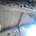 Nepean Sailing Club main lounge roof burgees.jpg
