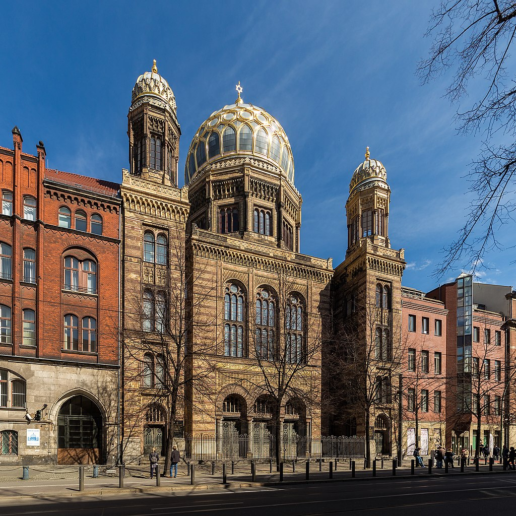 > La Nouvelle synagogue de Berlin - Photo de Ansgar Koreng / CC BY 3.0 (DE)