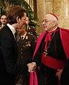 Neujahrsempfang Apostolischer Nuntius Zurbriggen Außenminister Kurz Jänner 2015 (16262083002).jpg