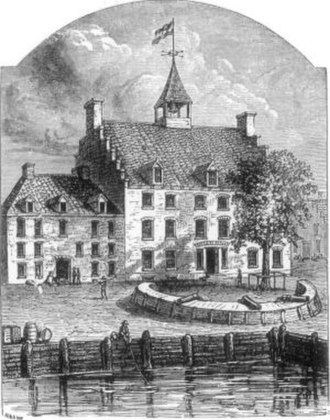 History of New York City (prehistory–1664) - Stadt Huys