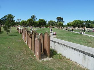 Eastern Suburbs Memorial Park - New Graves Over Pioneer Memorial Park in Botany Cemetery