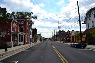 New Market Historic District (New Market, Virginia) United States historic place