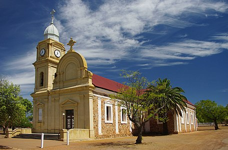 The Abbey church at New Norcia