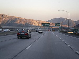 Deutsch: Newhall Pass Interchange