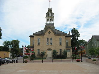 Newmarket, Ontario - Newmarket's Old Town Hall – Situated in the historic Main Street area.