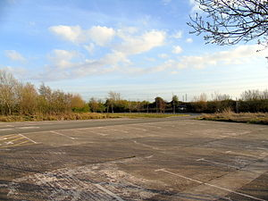 Newport Wetlands - Newport Wetlands RSPB Reserve car park