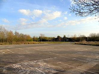 Newport Wetlands - Newport Wetlands RSPB Reserve car park