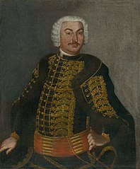 Portrait of Baron Ján Révay from Trebostov