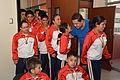 Niños ganadores de las Olimpiadas Especiales Intercantonales visitaron al Alcalde (11106419565).jpg
