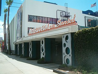 Nickelodeon on Sunset Theater/TV studio where live action series for Nickelodeon are taped
