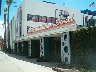 All That - Nickelodeon on Sunset at 6230 Sunset Boulevard as seen in May 2011. All That was filmed here until its cancellation.
