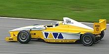 Rosberg alla guida di una vettura di Formula BMW nel 2002