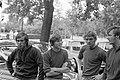 Nieuwe Ajax-spelers, v.l.n.r. Dick van Dijk, Nico Rijnders en Tom Sondergaard, Bestanddeelnr 922-6251.jpg