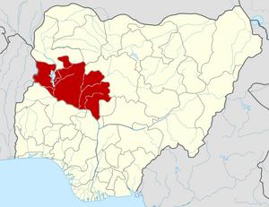 Нигер на карте
